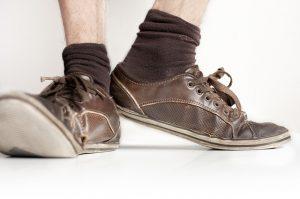 Staré topánky
